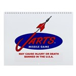 Jarts & Lawn Darts Wall Calendar