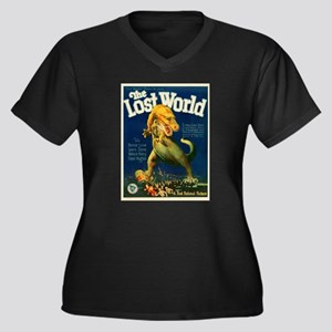 Vintage poster - The Lost World Plus Size T-Shirt
