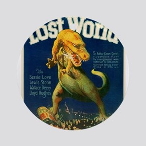 Vintage poster - The Lost World Round Ornament