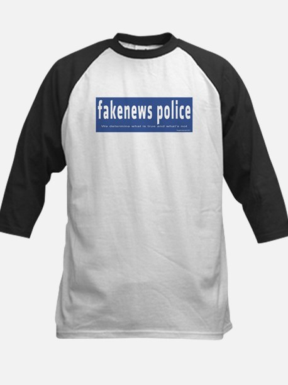 Fakenews Police Baseball Jersey