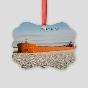 Mesabi Miner Picture Ornament