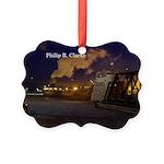 Philip R. Clarke Night Picture Ornament