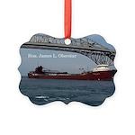Hon James L. Oberstar In Port Picture Ornament