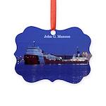 John G. Munson Picture Ornament