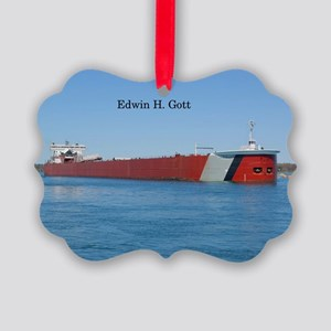 Edwin H. Gott Picture Ornament
