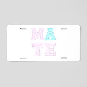 Soul Mate Aluminum License Plate