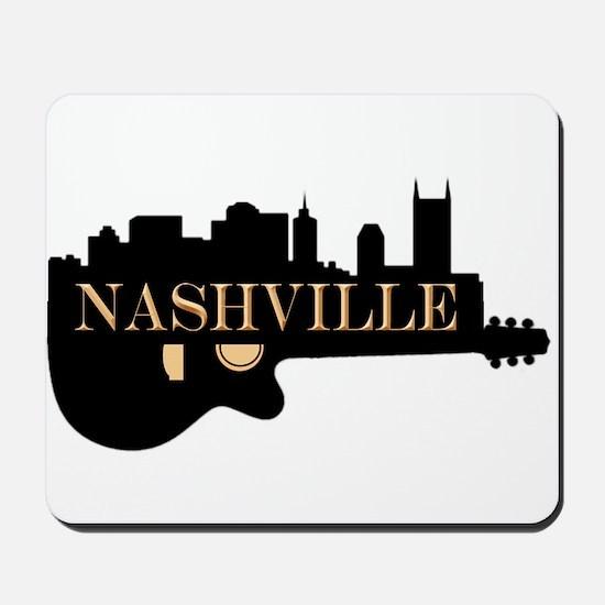 Nashville Guitar Skyline Mousepad