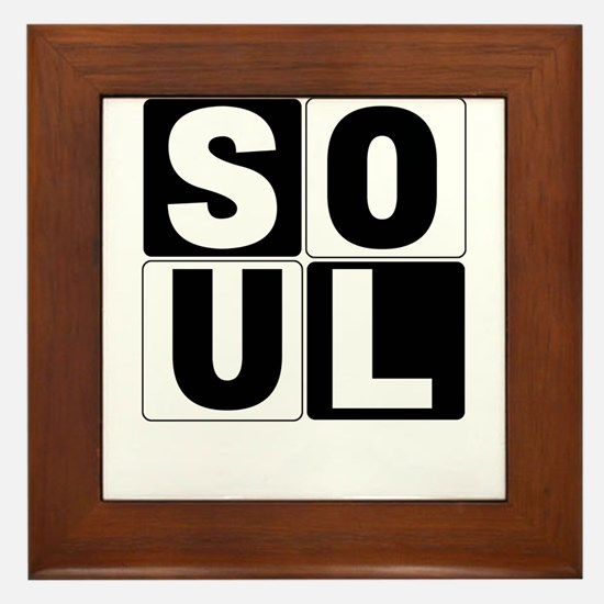 Soul Mate Framed Tile