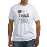 Dune buggy Fitted Light T-Shirts