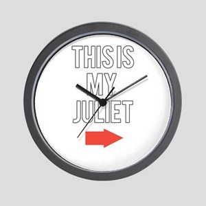 This is my juliet Wall Clock