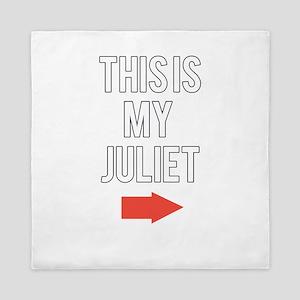 This is my juliet Queen Duvet