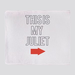 This is my juliet Throw Blanket