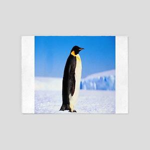 mr penguin slolo 5'x7'Area Rug