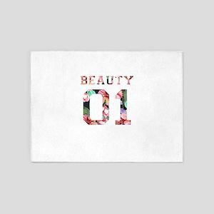 Beauty and Beast 5'x7'Area Rug