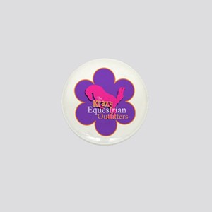 The Krazy Equestrian Outfitters Offici Mini Button