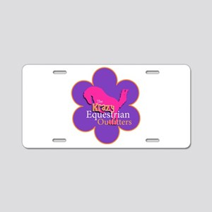 The Krazy Equestrian Outfit Aluminum License Plate