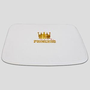 Prince and Princess couple shirts Bathmat