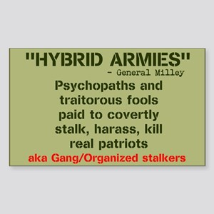HYBRID ARMIES Sticker (Rectangle)