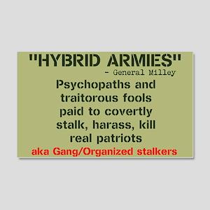 HYBRID ARMIES 20x12 Wall Decal