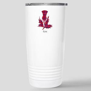 Thistle - Rose Stainless Steel Travel Mug
