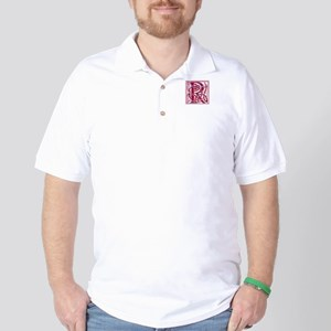 Monogram - Rose Golf Shirt