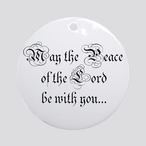 ...and also with you. Ornament (Round)