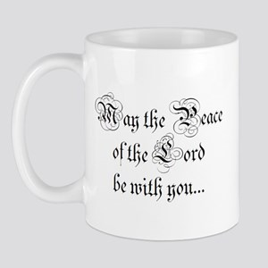 ...and also with you. Mug