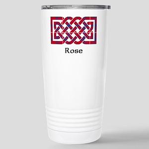 Knot - Rose Stainless Steel Travel Mug