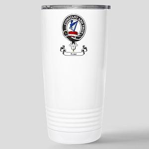 Badge - Rose Stainless Steel Travel Mug