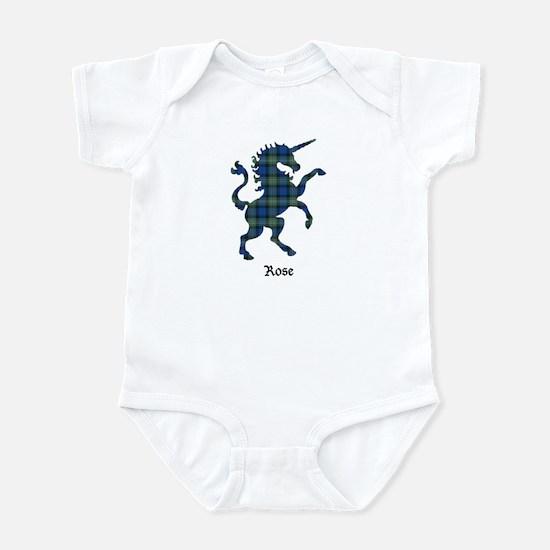 Unicorn-Rose hunting Infant Bodysuit