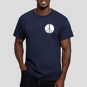 Fragile Peace Men's Fitted T-Shirt (dark)
