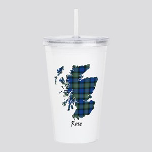 Map-Rose hunting Acrylic Double-wall Tumbler