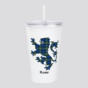 Lion-Rose hunting Acrylic Double-wall Tumbler