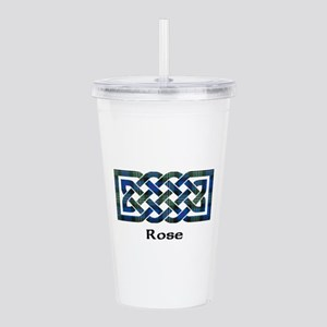 Knot-Rose hunting Acrylic Double-wall Tumbler