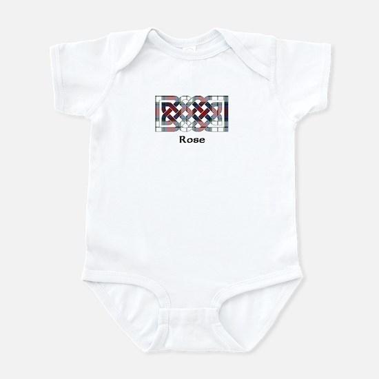 Knot-Rose dress Infant Bodysuit