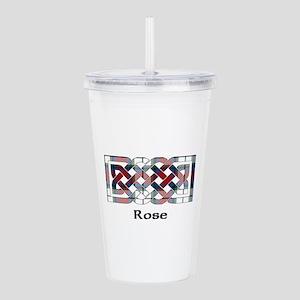 Knot-Rose dress Acrylic Double-wall Tumbler