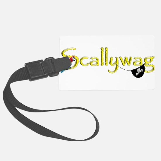 Talk Like A Pirate - Scallywag Luggage Tag