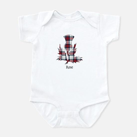Thistle-Rose dress Infant Bodysuit