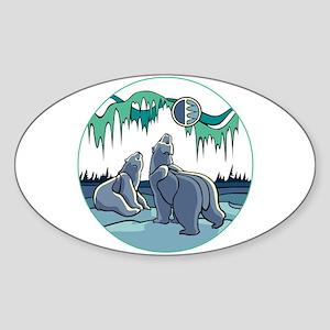 Native Bear Art Sticker