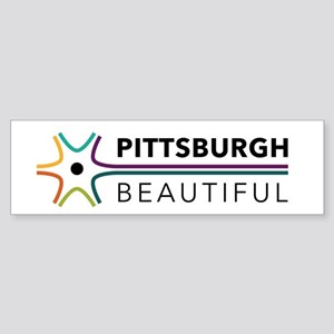 Pittsburgh Beautiful Color Bumper Sticker