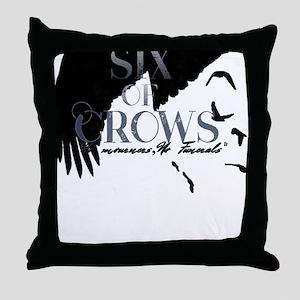 Leigh Bardugo Six of Crows Throw Pillow