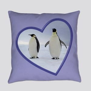Emperor Penguin Everyday Pillow