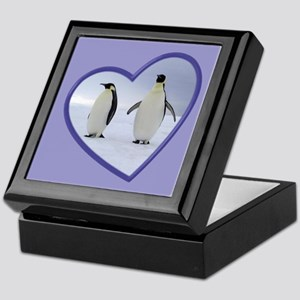 Emperor Penguin Keepsake Box