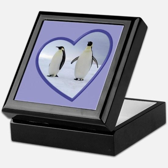 Emperor Penguin Keepsake Box