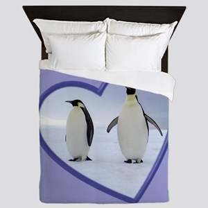 Emperor Penguin Queen Duvet