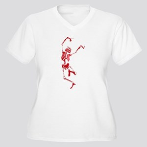 DancingSkeleton Plus Size T-Shirt