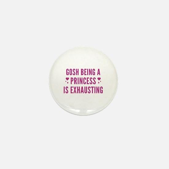 Gosh Princess Mini Button