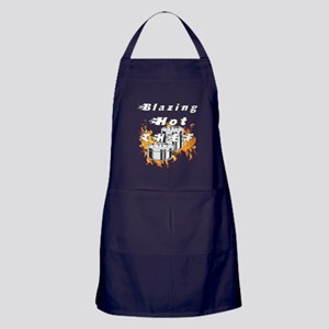 Blazing Hot Chef Apron (dark)