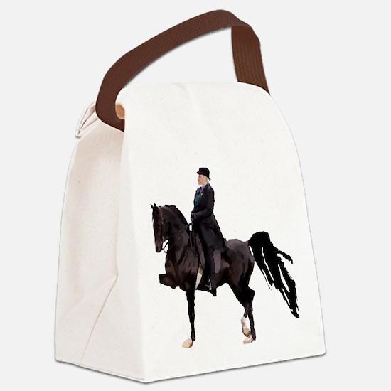 Unique Western pleasure horse Canvas Lunch Bag