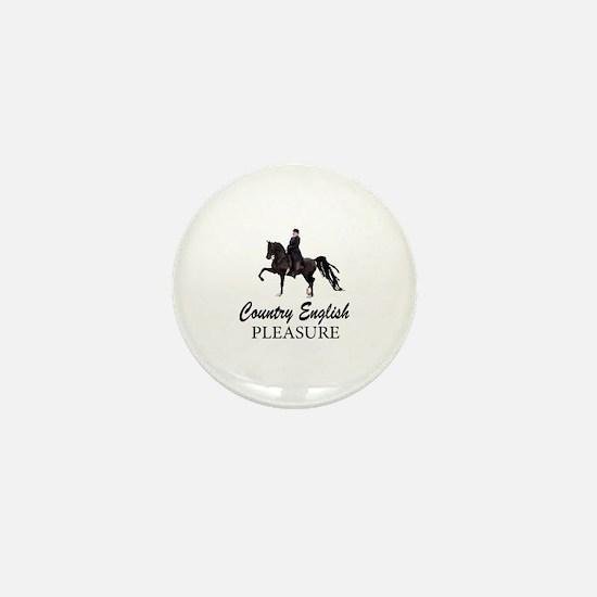Funny Saddleseat Mini Button